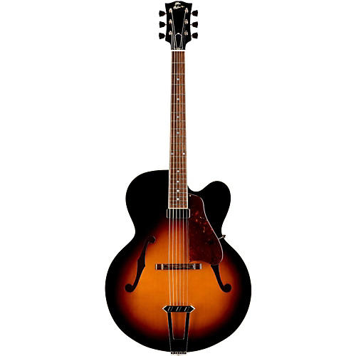 Gibson Custom 2015 Solid-Formed 17 Venetian Cutaway Archtop Hollowbody Electric Guitar