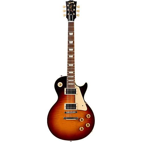 Gibson Custom 2015 True Historic 1960 Les Paul Reissue Aged Electric Guitar Vintage Dark Burst