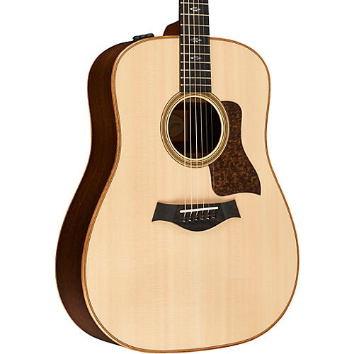 Taylor 2016 700 Series 710e Dreadnought Acoustic-Electric Guitar Natural