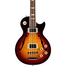 Gibson 2016 ES-Les Paul Semi-Hollow Electric Bass Guitar Dark Vintage Sunburst