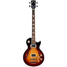 2016 ES-Les Paul Semi-Hollow Electric Bass Guitar Dark Vintage Sunburst
