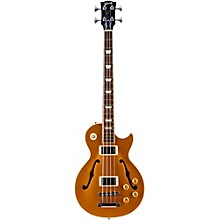 Gibson 2016 ES-Les Paul Semi-Hollow Electric Bass Guitar Gold Top