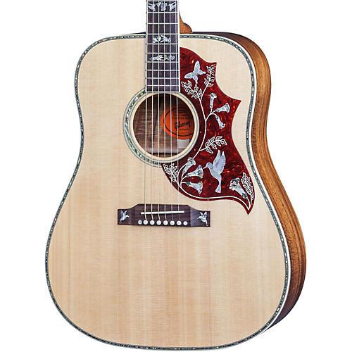 Gibson 2016 Hummingbird Custom Koa Dreadnought Acoustic Guitar-thumbnail