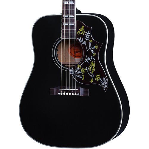 Gibson 2016 Hummingbird Ebony Dreadnought Acoustic Guitar-thumbnail