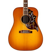 2016 Hummingbird Square Shoulder Dreadnought Acoustic-Electric Guitar Heritage Cherry