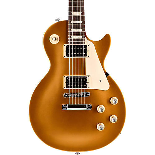 gibson 2016 les paul 39 50s tribute t electric guitar satin gold top with dark back musician 39 s. Black Bedroom Furniture Sets. Home Design Ideas