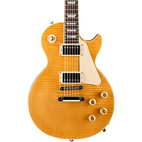 gibson 2016 les paul standard hp electric guitar translucent amber musician 39 s friend. Black Bedroom Furniture Sets. Home Design Ideas