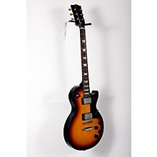 Gibson 2016 Les Paul Studio T Electric Guitar Level 2 Fire Burst, Chrome Hardware 888365900216