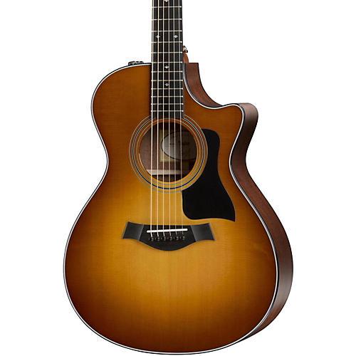 Taylor 2016 Limited 312ce Grand Concert Acoustic-Electric Guitar Honey Sunburst
