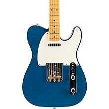 2016 Limited Edition NAMM Custom Built 50's Journeyman Relic Telecaster, Maple Aged Lake Placid Blue