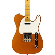 2016 Limited Edition NAMM Custom Built 50's Journeyman Relic Telecaster, Maple Faded Candy Tangerine