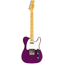 2016 Limited Edition NAMM Custom Built 50's Journeyman Relic Telecaster, Maple Magenta Sparkle