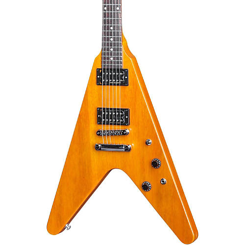 Gibson 2016 Limited Run Flying V Faded Electric Guitar Vintage Amber
