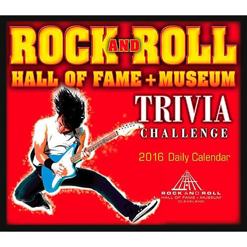 Hal Leonard 2016 Rock And Roll Hall Of Fame Daily Boxed Calendar-thumbnail
