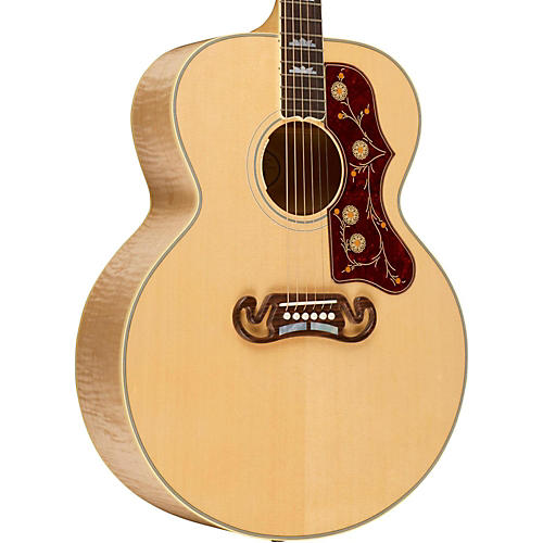 Gibson 2016 SJ-200 Standard Super Jumbo Antique Natural Acoustic-Electric Guitar
