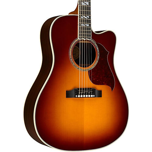 Gibson 2016 Songwriter Progressive Square Shoulder Cutaway Dreadnought Acoustic-Electric Guitar-thumbnail