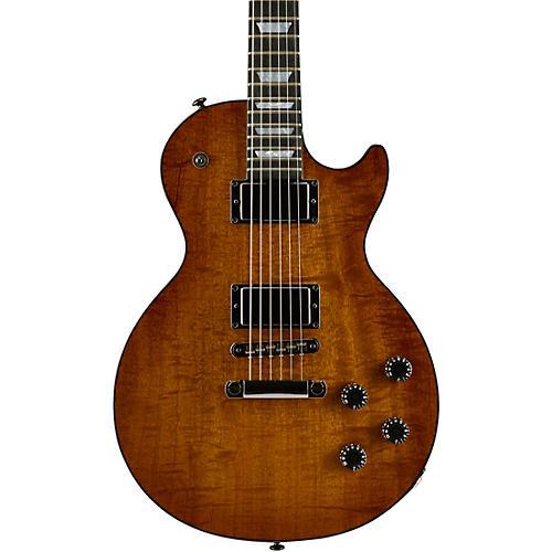 Gibson 2017 Les Paul Premium Figured Mahogany Solid Body Electric Guitar-thumbnail