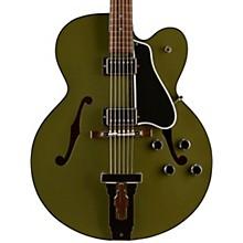 Gibson Custom 2017 Limited Run L-5 Studio Hollowbody Electric Guitar Army Green 5-ply Black Pickguard