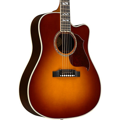 Gibson 2017 Songwriter Progressive Square Shoulder Cutaway Dreadnought Acoustic-Electric Guitar-thumbnail