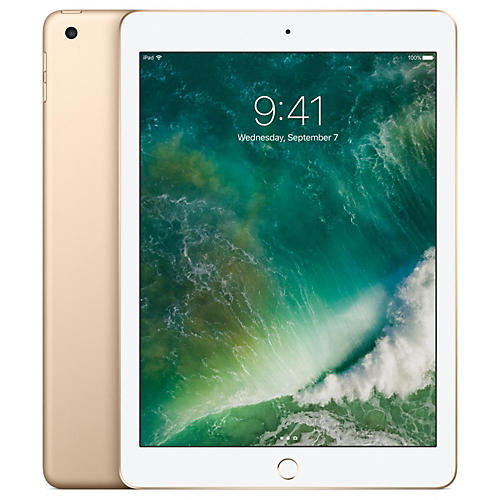 Apple 2017 iPad 32GB Wi-Fi Only - Gold (MPGT2LL/A)