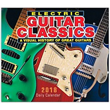 Hal Leonard 2018 Electric Guitar Classics Daily Desk Calendar