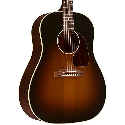 gibson 2018 j 45 vintage acoustic guitar vintage sunburst musician 39 s friend. Black Bedroom Furniture Sets. Home Design Ideas