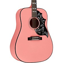Gibson 2018 Limited Edition Hummingbird Acoustic-Electric Guitar - Techno Pink