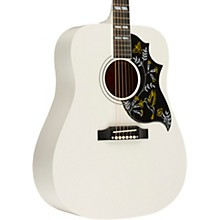 Gibson 2018 Limited Edition Hummingbird Alpine White Acoustic-Electric Guitar