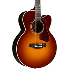 Gibson 2018 Parlor Rosewood Avant Garde Burst Acoustic-Electric Guitar