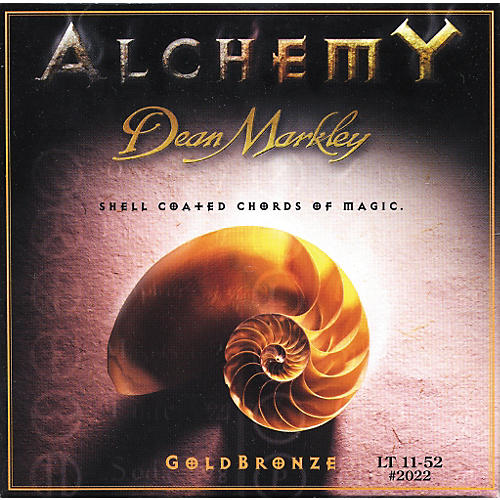 Dean Markley 2022 Alchemy GoldBronze Light Acoustic Strings