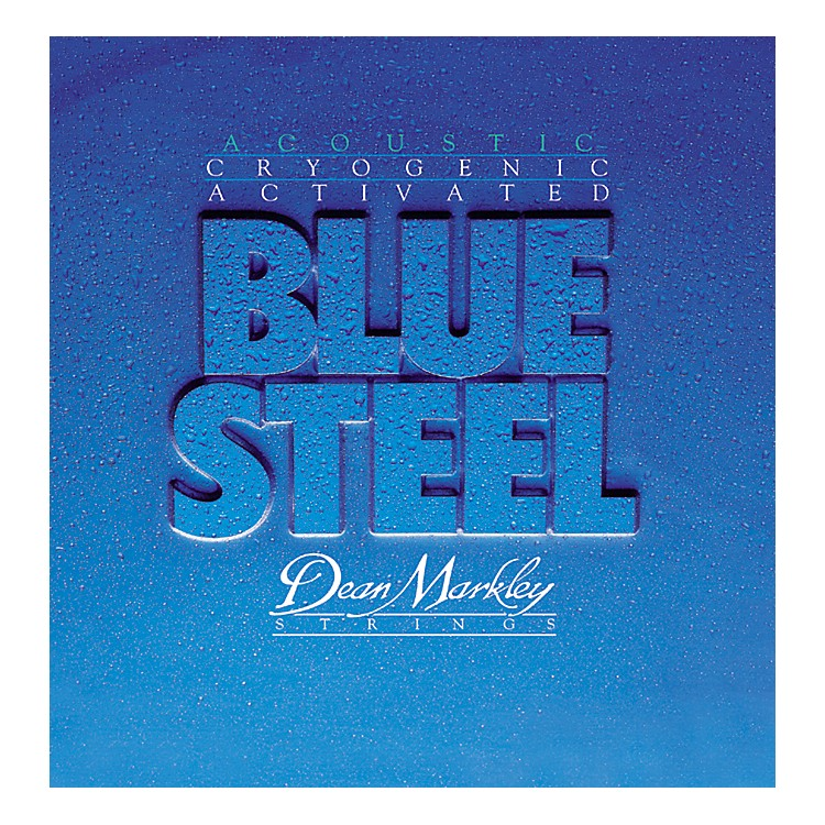 Dean Markley 2037 TMD Blue Steel Cryogenic Acoustic Guitar Strings