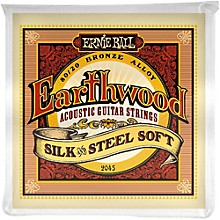 Ernie Ball 2045 Earthwood 80/20 Bronze Silk and Steel Soft Acoustic Guitar Strings