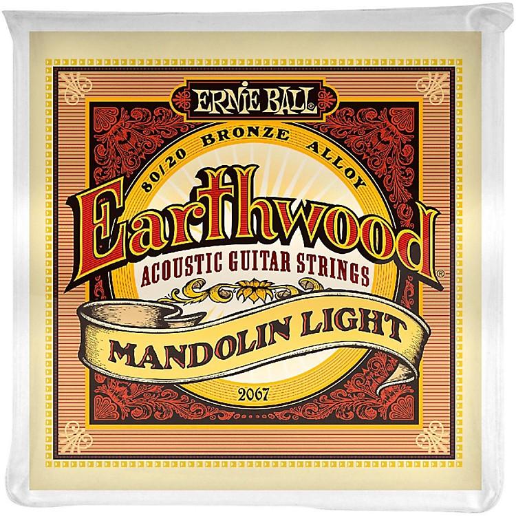 Ernie Ball2067 Earthwood 80/20 Bronze Mandolin Light Strings