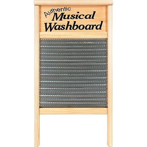 Columbus Washboard 2072-MS Authentic Musical Stainless Washboard