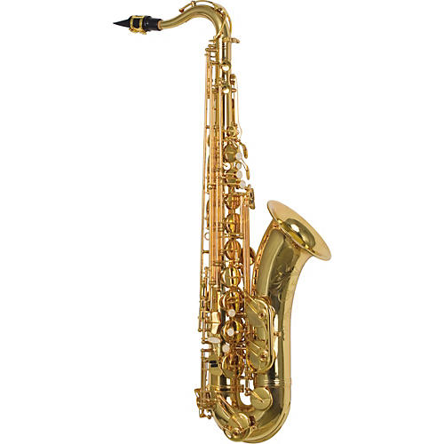L.A. Sax 209 Tenor Saxophone with Gold-Plated Keys-thumbnail