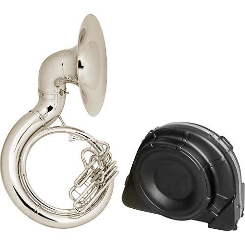 Conn 20K Series Brass BBb Sousaphone 20KSPW Silver Plate with Case