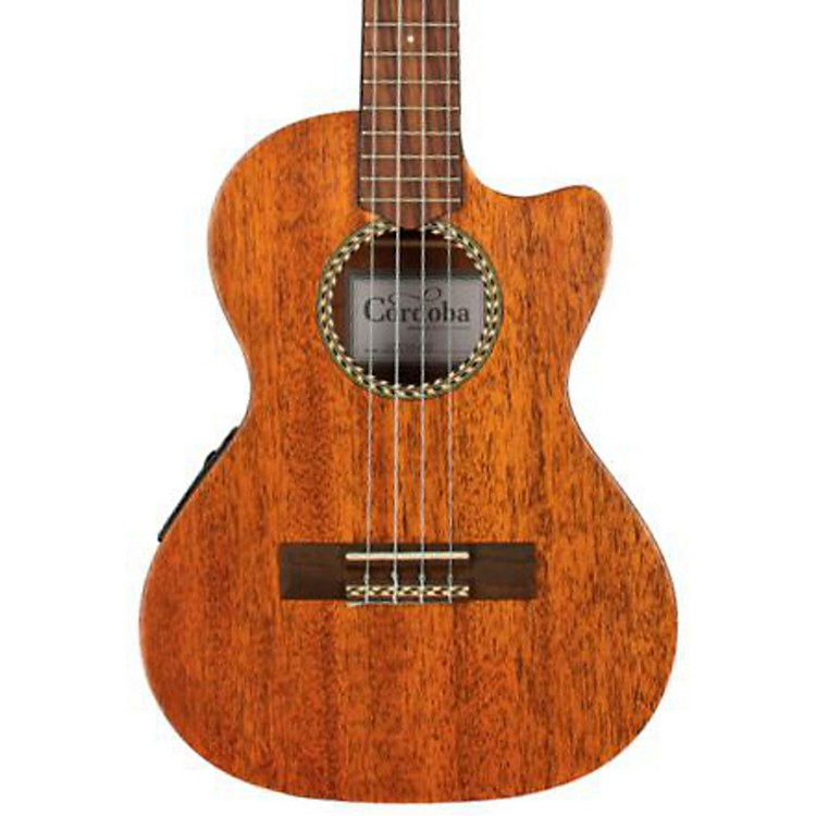 Cordoba 20TM-CE Tenor Cutaway Electric Ukulele Natural