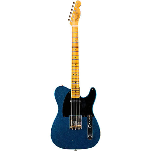 Fender Custom Shop 20th Anniversary Relic Nocaster Electric Guitar Aged Blue Sparkle