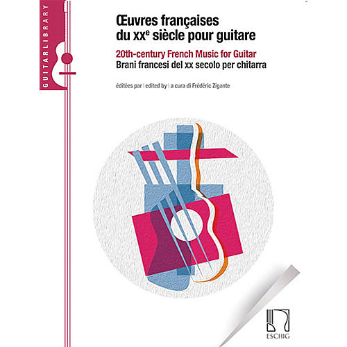 Durand 20th Century French Music for Guitar Max Eschig Series Softcover-thumbnail