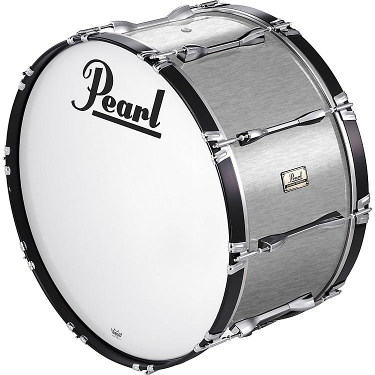 Pearl20x14 Championship Series Marching Bass DrumWhite