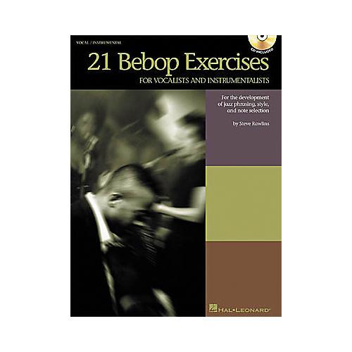 Hal Leonard 21 Bebop Exercises Book/CD-thumbnail