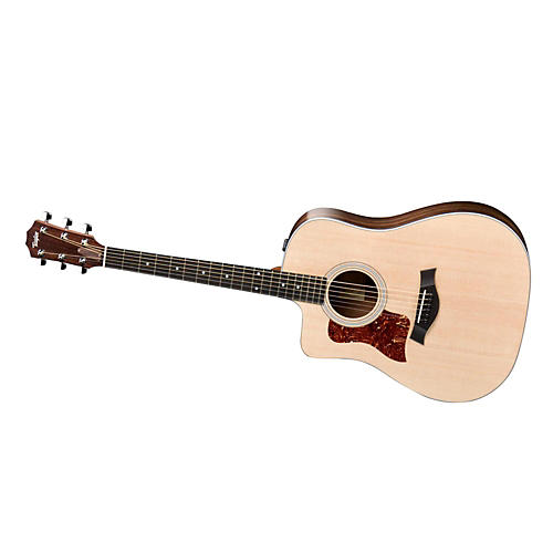 Taylor 210ce-L Rosewood/Spruce Dreadnought Left-Handed Acoustic-Electric Guitar