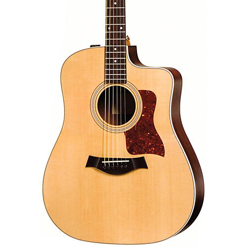 Taylor 210ce Rosewood/Spruce Dreadnought Acoustic-Electric Guitar Natural