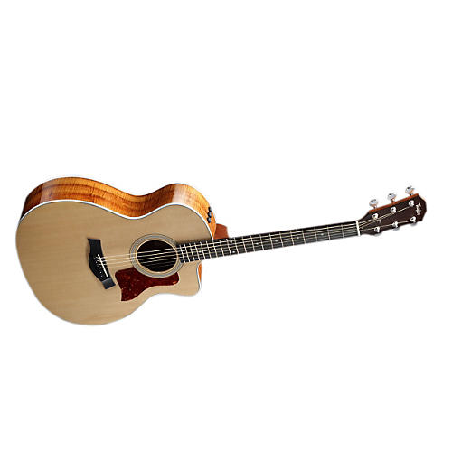 Taylor 210ce Spruce/Koa Dreadnought Cutaway Acoustic-Electric Guitar-thumbnail