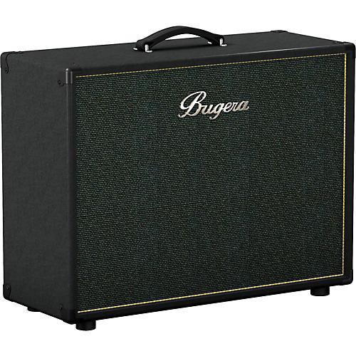 Bugera 212V-BK 2x12 Guitar Speaker Cabinet Black Slant