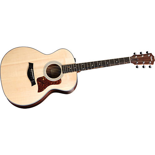 Taylor 214E-G Grand Auditorium Acoustic-Electric Guitar with Gloss Finish