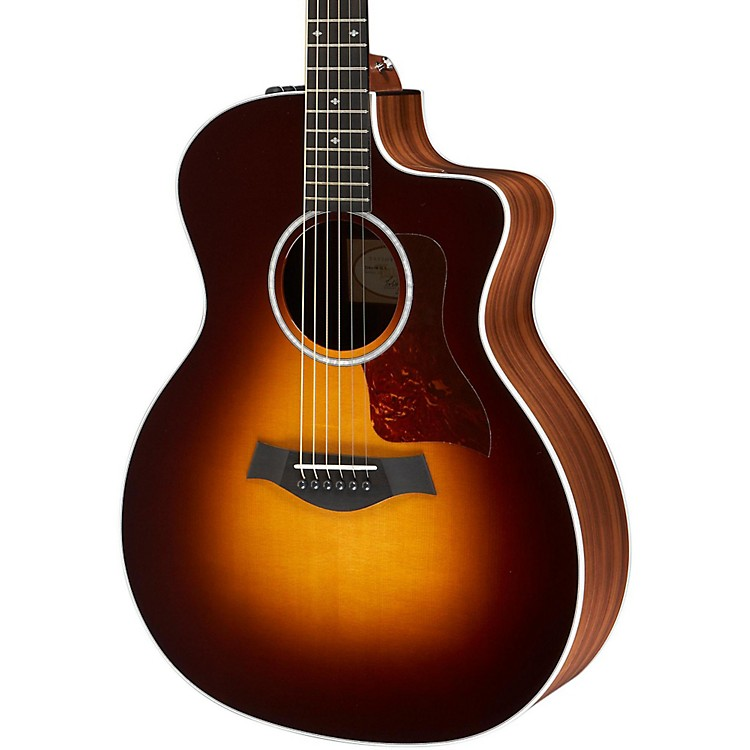 taylor 214ce deluxe grand auditorium cutaway acoustic electric guitar musician 39 s friend. Black Bedroom Furniture Sets. Home Design Ideas