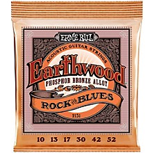 Ernie Ball 2151 Earthwood Phosphor Bronze Rock & Blues Acoustic Guitar Strings