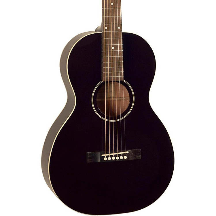 The Loar 216 O-Style Small Body Acoustic Guitar Classic Black