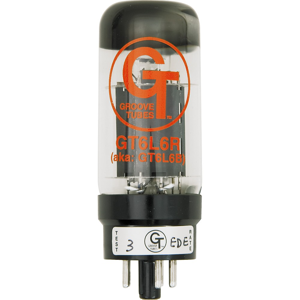 Groove Tubes Gold Series GT-6L6-R Matched Power Tubes Medium (4-7 GT Rating) Quartet
